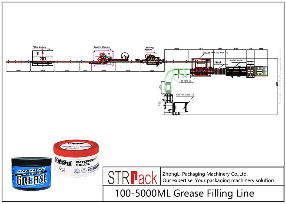 Dây chuyền chiết mỡ tự động 100ML-5L