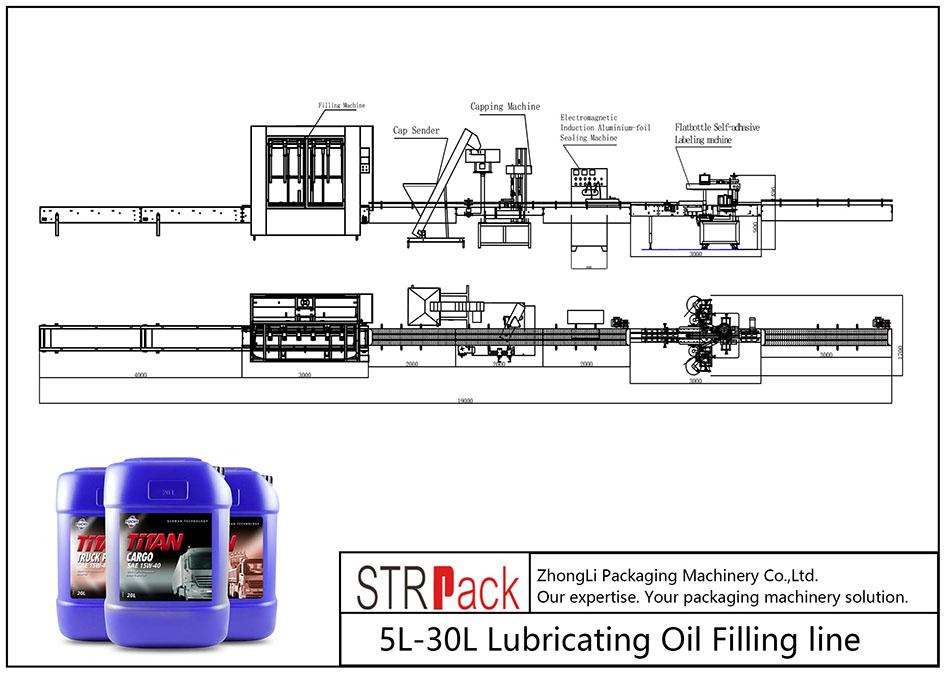 Dây chuyền tự đổ dầu bôi trơn 5L-30L