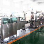 Dây chuyền sản xuất tự động Máy chiết rót chai Filler Máy đóng gói cho 70% cồn khử trùng tay, dầu gội, sữa tắm, chất lỏng