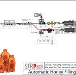 Dây chuyền chiết rót mật ong tự động