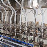 Máy chiết rót chất lỏng cho hệ thống dây chuyền đóng chai